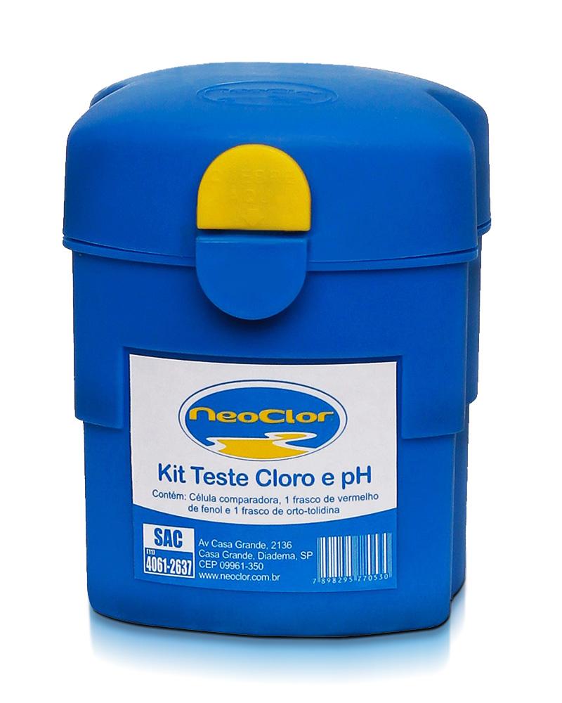 Kit Teste Cloro e pH