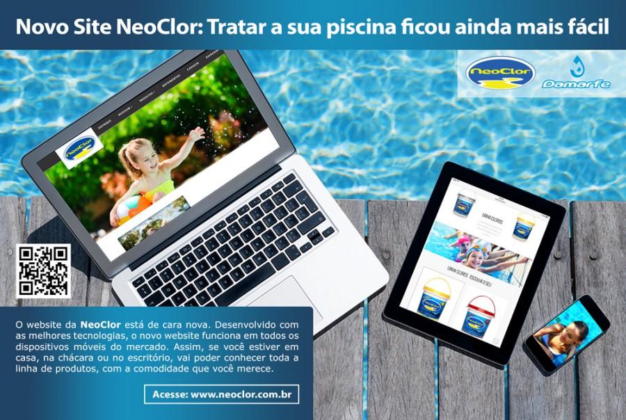 Anúncio - Novo Website NeoClor