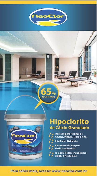 Hipoclorito de Cálcio Granulado